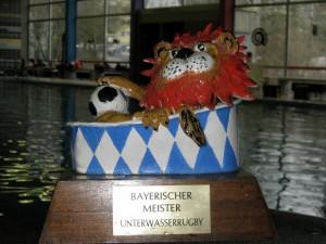 Der Wanderpokal für den Bayerischen Meister.