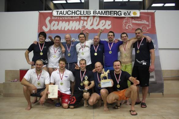 """Die Mannschaft """"Czech Mix"""", Sieger des Bamberg Reiters 2012"""