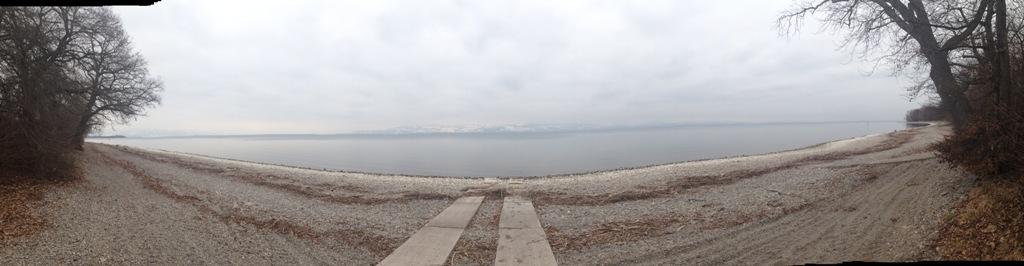 Der Strand in Gohren