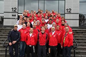 Die Finalteilnehmer der UWR WM 2011 vereint: Deutschland und Norwegen. Foto: VDST