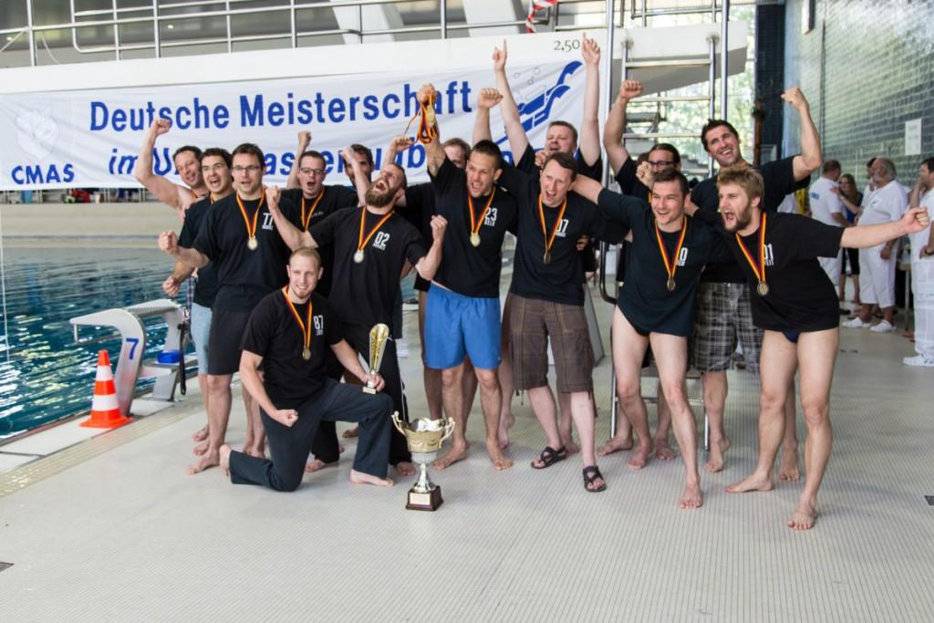 Der Deutsche Meister im UWR 2015. (Foto: DUC Krefeld)