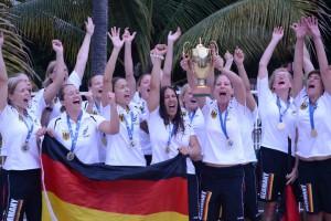 Die Deutschen Damen können sich über Gold freuen (Foto: Veranstalter)